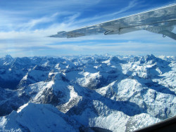 View of the Southern Alps with Air Milford