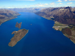 Queenstown Scenic Flight view with Air Milford