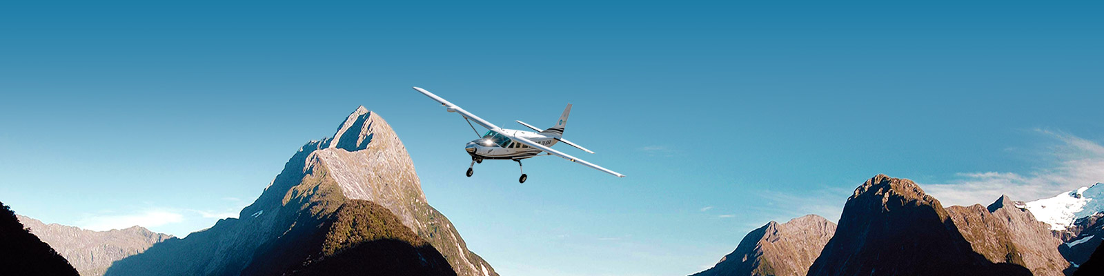 Milford Sound Scenic Flight & Five Glaciers Deal